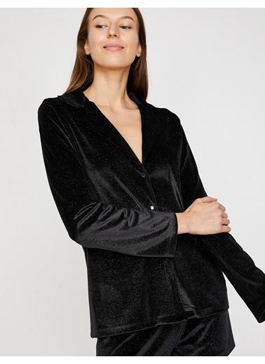 Koton Pijama Takım Siyah